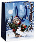Verners Gift Bag Christmas Bear 389706