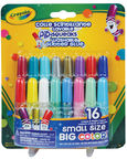 Crayola Washable Glitter Glue 16pcs