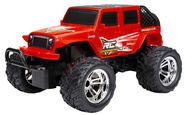 New Bright 1:18 Jeep Wrangler Red 61822