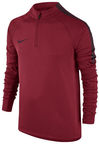 Nike Squad Drill LS Top JR 807245 687 Red L