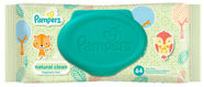 Pampers Natural Clean Wipes 64pcs