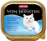 Animonda Vom Feinsten Castrated Cats Turkey & Trout 100g