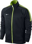 Nike Team Club Trainer Jacket 658683 011 Black Green M