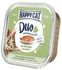 Happy Cat Duo Menu Poultry & Lamb 100g