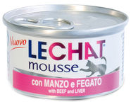Monge LeChat Mousse With Beef & Liver 85g