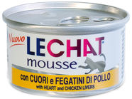 Monge LeChat Mousse With Heart & Chicken Liver 85g