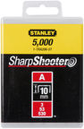 Stanley 10mm A-Type Light Duty Staples