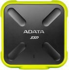 ADATA SD700 512GB External SSD USB 3.1 440 MB/s IP68 dust/water proof Yellow