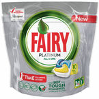 Fairy Dishwashing Tablets All In One Platinum 10pcs