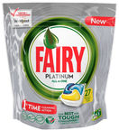 Fairy Dishwashing Tablets All In One Platinum Lemon 27pcs
