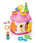Smoby Cotoons Shape Sorter House Pink
