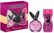 Playboy Queen of the Game 40ml EDT + 250ml Shower Gel