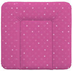 Ceba Baby Soft Changing Mat Medium Stars Dark Pink