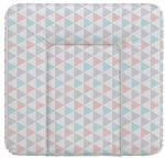 Ceba Baby Soft Changing Mat Medium Triangle Turquoise/Orange