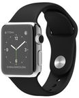 Apple Watch 38mm Stainless Steel Pin Sport Band Black