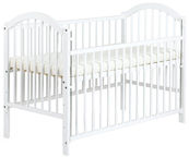 Klups Ewelina I Cot With Drop Side White