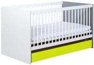 Klups Irene Lime Cot-Bed With Storage 140x70cm