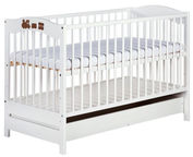 Klups Radek V Cot With Drawer White