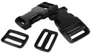 EuroTrail Side Release Buckle 25mm Black