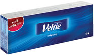 Veltie Original White Tissues 10x10pcs