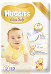 Huggies Elite Soft 3 MP 80