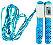 Spokey Skipping Rope with Meter 839202 Blue