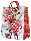 Paw Decor Collection Gift Bag Winter Rowan Medium