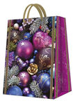 Paw Decor Collection Gift Bag Violet Composition Large