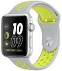 Apple Watch Series 2 Nike+ 38mm Aluminium/Silver Yellow Silicone Band