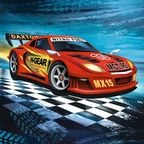 Susy Card Party Napkins Super Racer 33 x 33cm