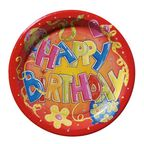 Susy Card Party Happy Birthday Plates 23cm 10pcs