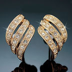Vincento Earrings With Swarovski Elements CE-1065