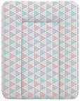 Ceba Baby Soft Changing Mat Small Triangle Turquoise/Orange