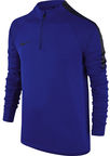 Nike Squad Drill LS Top JR 807245 453 Blue L