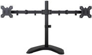 ART L-21N Holder For 2x LCD/LED Monitors 13-27'' Black