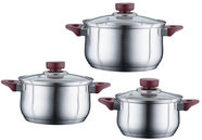 Peterhof Vino Cookware Set 6pcs PH-15816