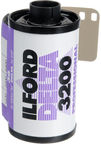 Ilford Delta 3200 Professional Black And White Negative Film 35mm