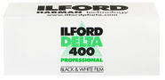 Ilford Delta 400 Professional Black And White Negative Film 120 Roll