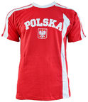 Marba Sport Poland Replica Cotton T-shirt JR Red 140cm