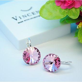 72e143ee892 Vincento Earrings With Swarovski Elements Rivoli VE-2074 :: Серьги ...