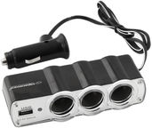 Esperanza Car Lighter Socket Splitter With USB Black