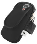 Qoltec Sports Wirst Pouch/Armband Black