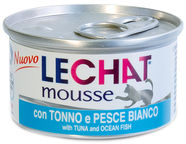 Monge LeChat Mousse With Tuna & Ocean Fish 85g