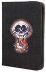 "GreenGo Universal Book Case With Stand 7-8"" Skull 2"
