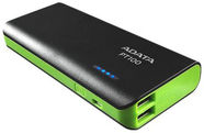 A-Data PT100 Power Bank 10000mAh Black/Green