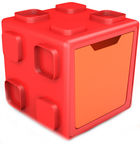 Chillafish Box Multifunctional With Boxtop Red/Orange CPBT01REO