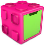 Chillafish Box Multifunctional With Boxtop Pink/Green CPBT01PIL