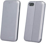 Beeyo Diva Series Book Case For Apple iPhone 7 Grey