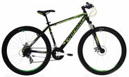 "Capriolo Oxygen 20"" 26"" Black Green 17"