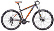 "CTM Rambler 1.0 22"" 29"" Black Orange 17"